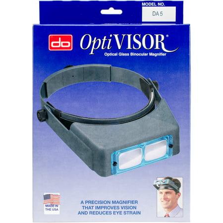 "Donegan Optical Optivisor Binocular Magnifier-Lensplate #5 Magnifies 2.5X At 8"" - image 1 de 1"
