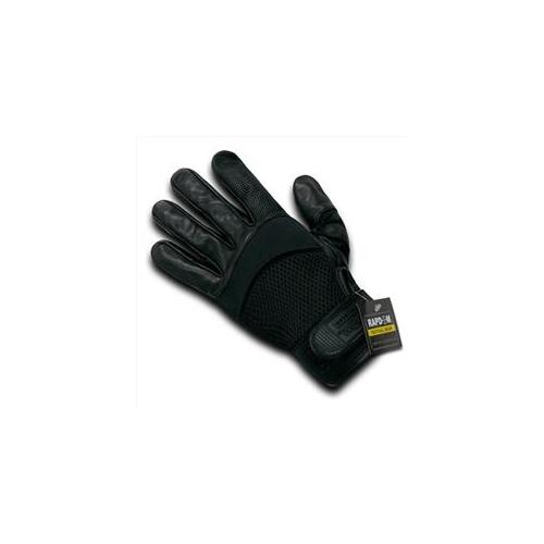 RapDom T22-PL-BLK-05 Airmesh-Digital Leather Glove - Black, 2X