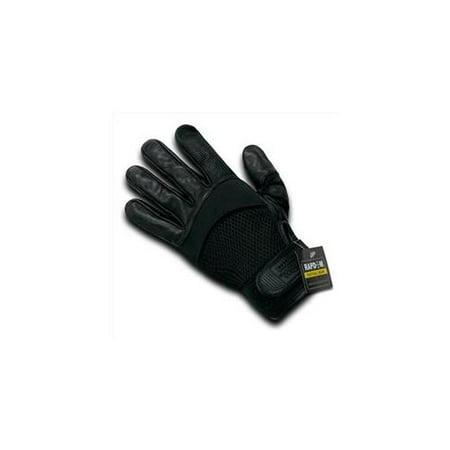 T22 - Air Mesh - Digital Leather Glove-Black-2X - Mom Air Mesh Leather