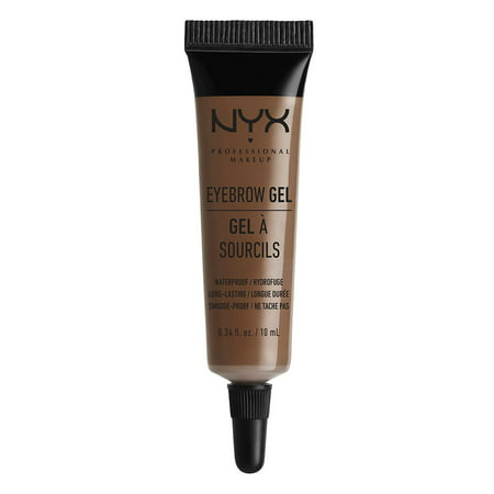 NYX Professional Makeup Eyebrow Gel Chocolate - 0.34 fl oz