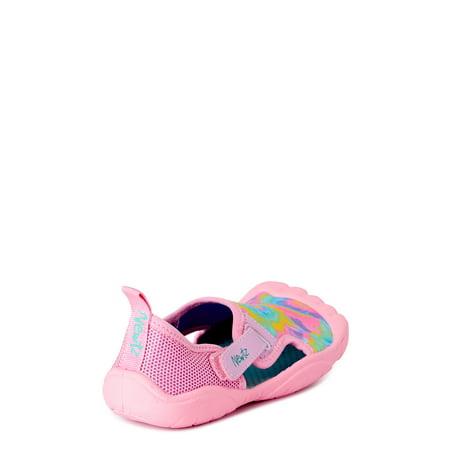 Newtz Beach Little Girls and Big Girls Tie-Dye Water Shoes, UPF 50+