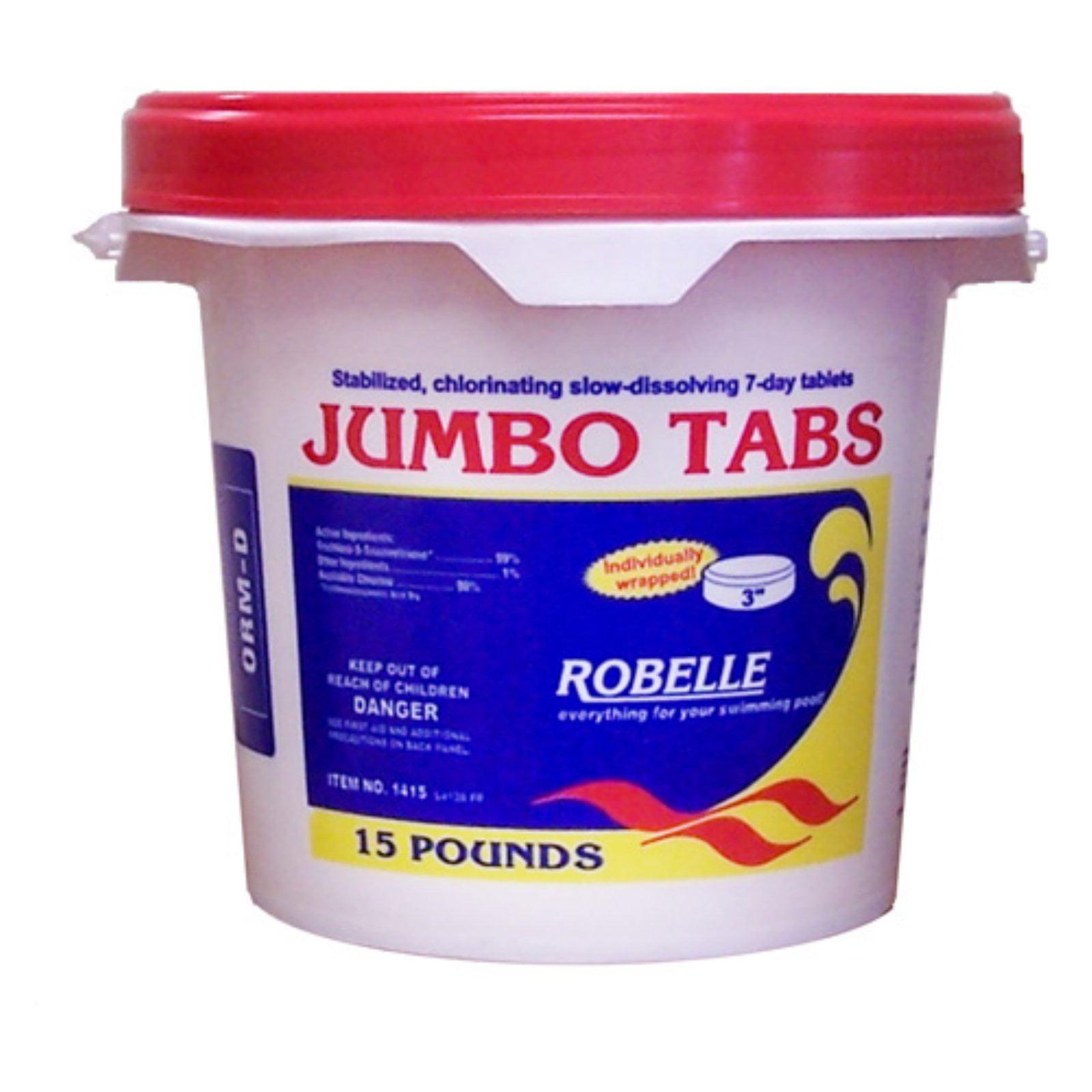 Robelle 3 in. Jumbo Chlorine Tabs