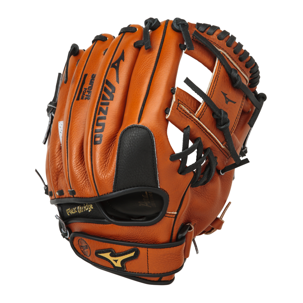 Mizuno Prospect Leather Baseball Glove, 11.00in, Left Hand Throw