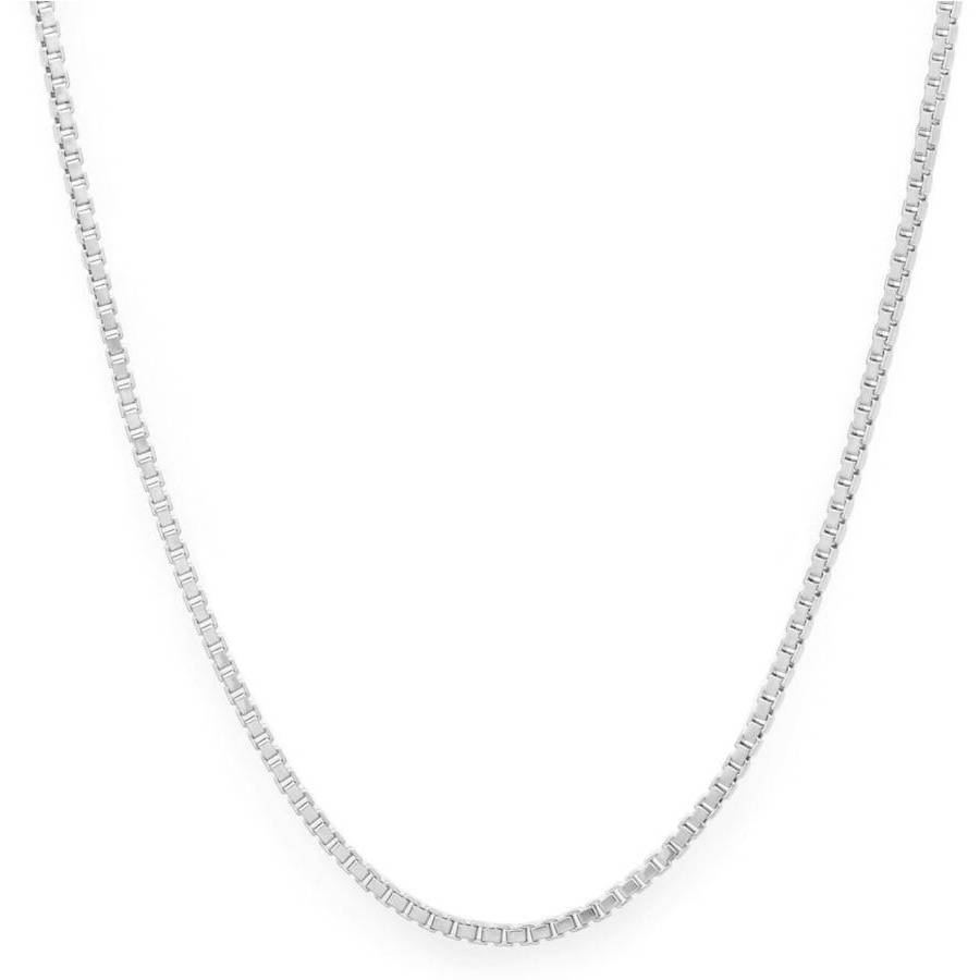 Image of A .925 Sterling Silver 2mm Box Chain, 20""