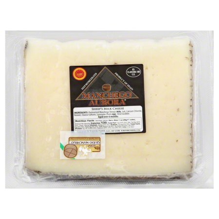 Forever Cheese Manchego Aurora  Cheese, 1 ea
