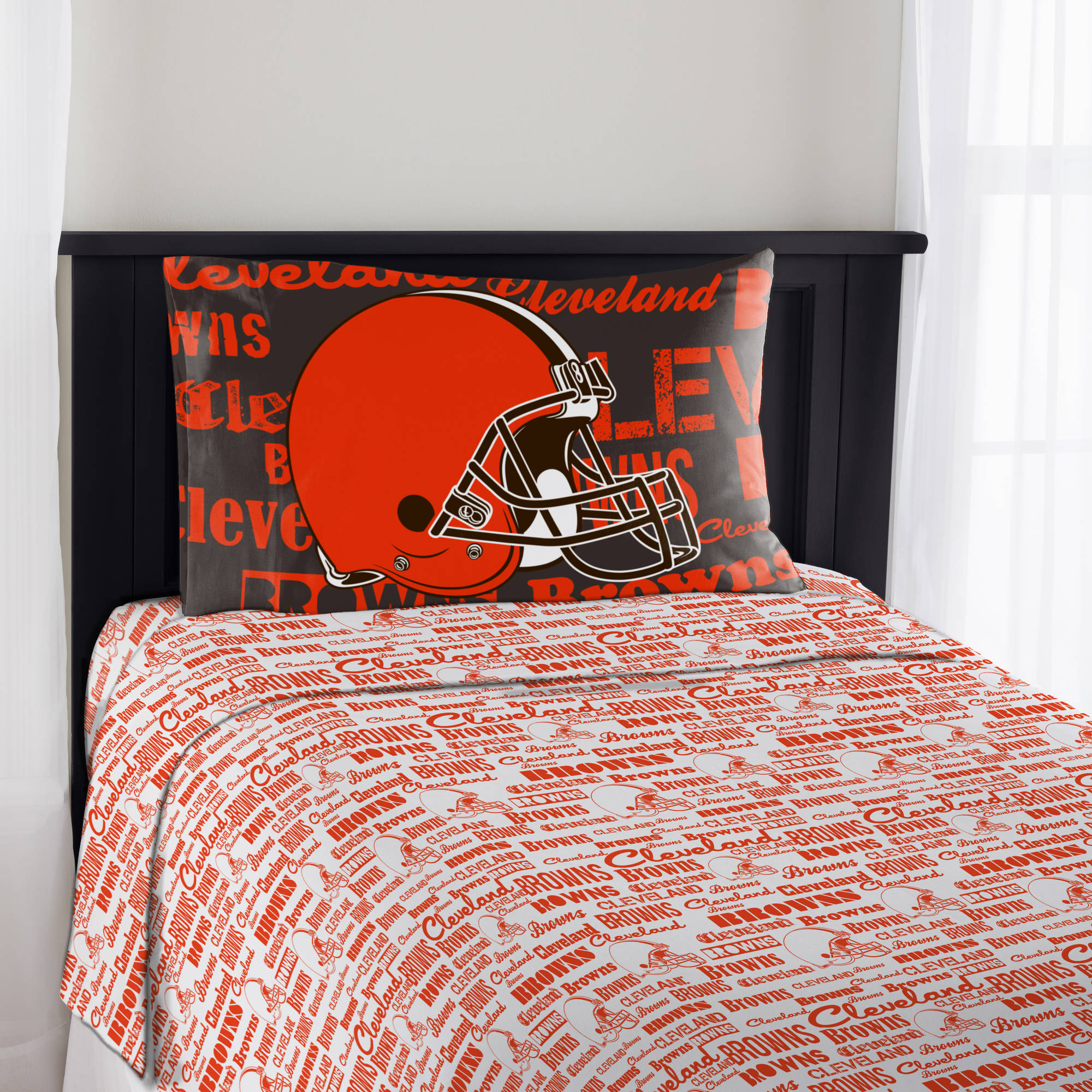 "NFL Cleveland Browns ""Anthem"" Sheet Set"
