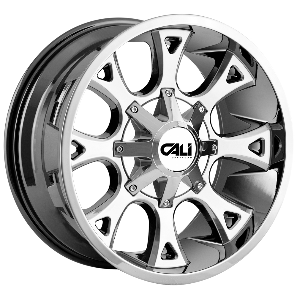 "20"" Inch Cali OffRoad 9103 Anarchy 20x10 6x135/6x5.5"" -19mm Chrome Wheel Rim"