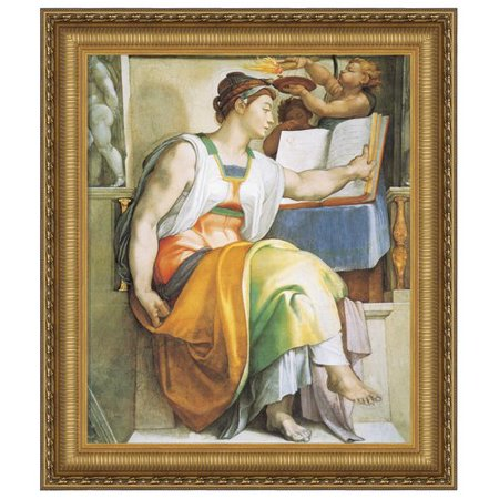 Design Toscano  The Erythraean Sibyl, 1509: Canvas Replica Painting: Grande