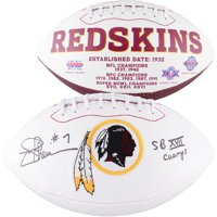 "Joe Theismann Washington Redskins Autographed Logo Football with ""SB XVII"" Inscription - Fanatics Authentic Certified"