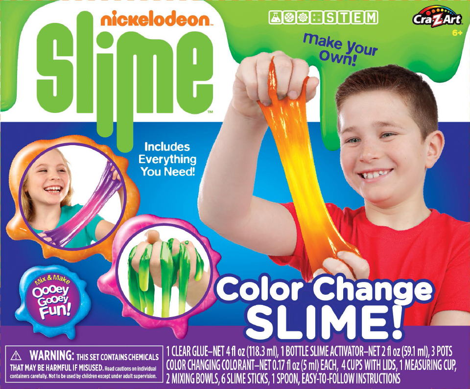 Nickelodeon Color Change Slime Kit by La Rose
