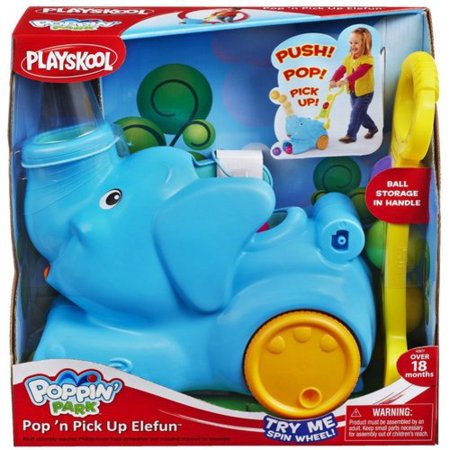 Playskool Poppin Park to Pop 'n Pick Up Elefun