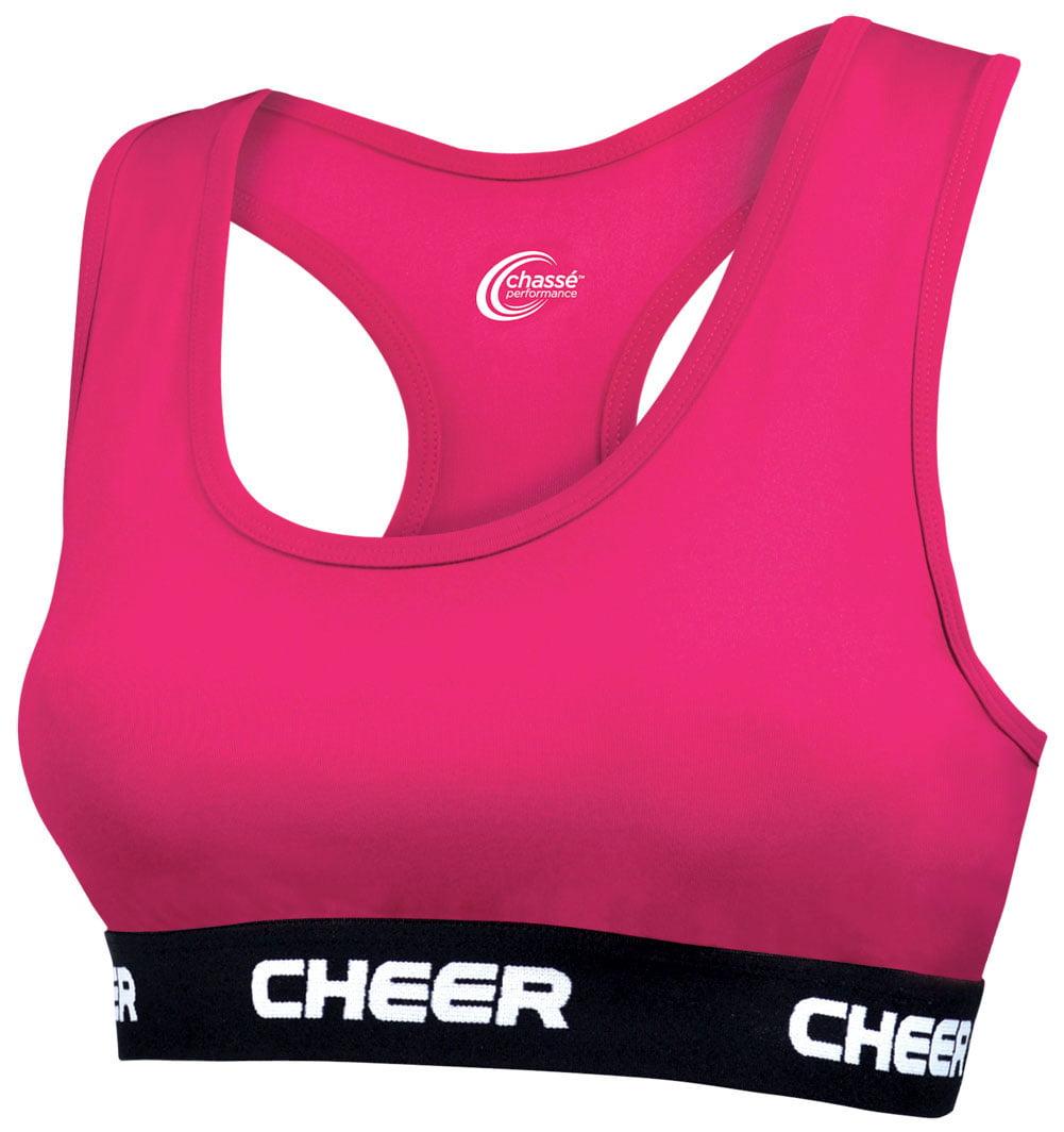 bfb8b03e5 Chasse - C-Prime Cheer Sports Bra - Youth Girls Sizes - Walmart.com