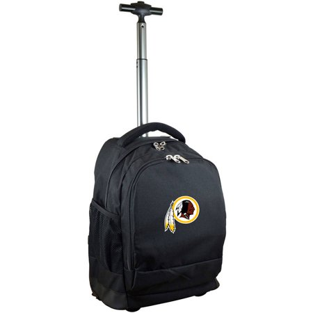 Mojo Licensing Premium Wheeled Backpack, Washington Redskins