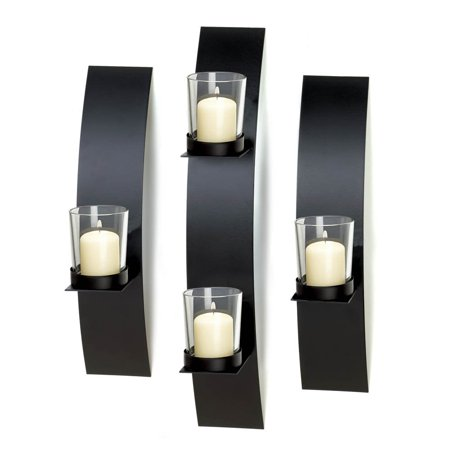 Wall Sconce Candle Bathroom Modern Metal Candle Sconces