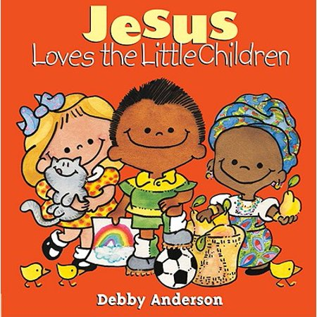 Jesus Loves the Little Children (Board Book)](Jesus Loves You In Spanish)