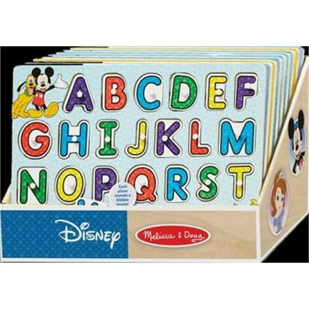 Peg Puzzles Toys - Disney Peg Puzzle Asst In Disp, PartNo 7468, by Melissa & Doug,Llc, Toys, Puzzle