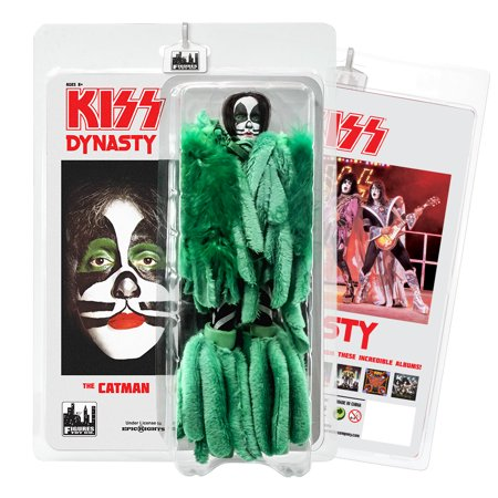KISS 8 Inch Action Figures Series 8 Dynasty: The Catman for $<!---->