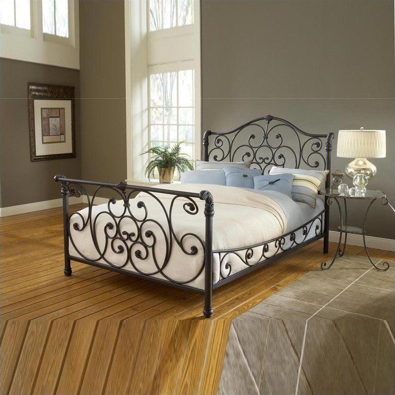 Hillsdale Mandalay Bed In Rustic Old Brown