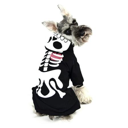Skeleton Dog Pajama Size XS