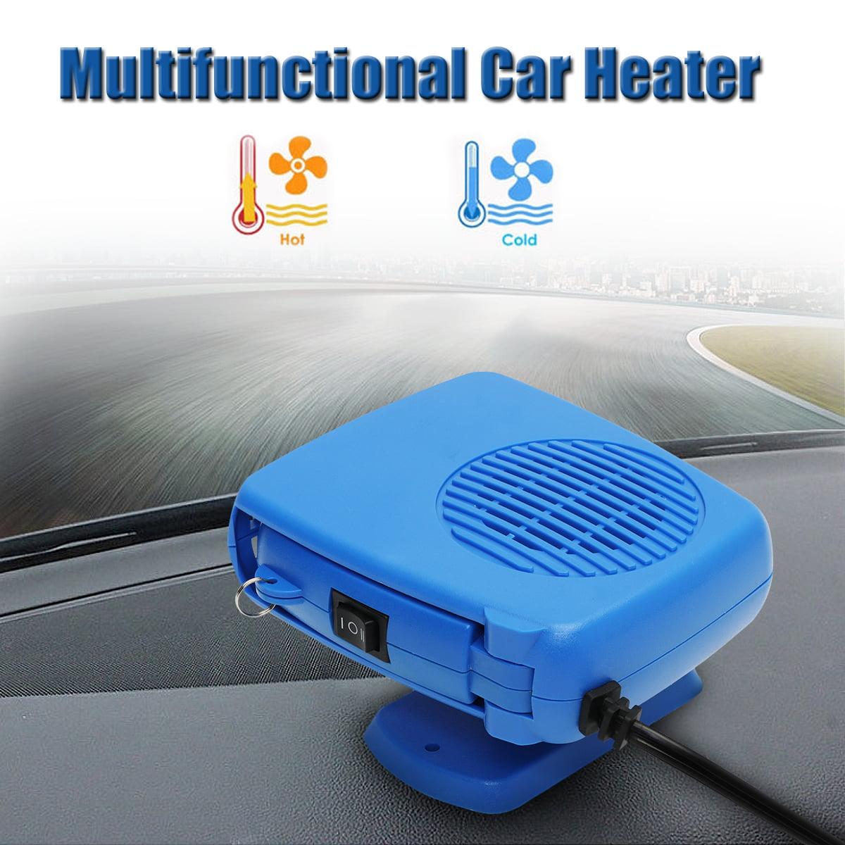 Portable Car Ceramic Heating Cooling Heater Fan Defroster Demister 200W 12V  !