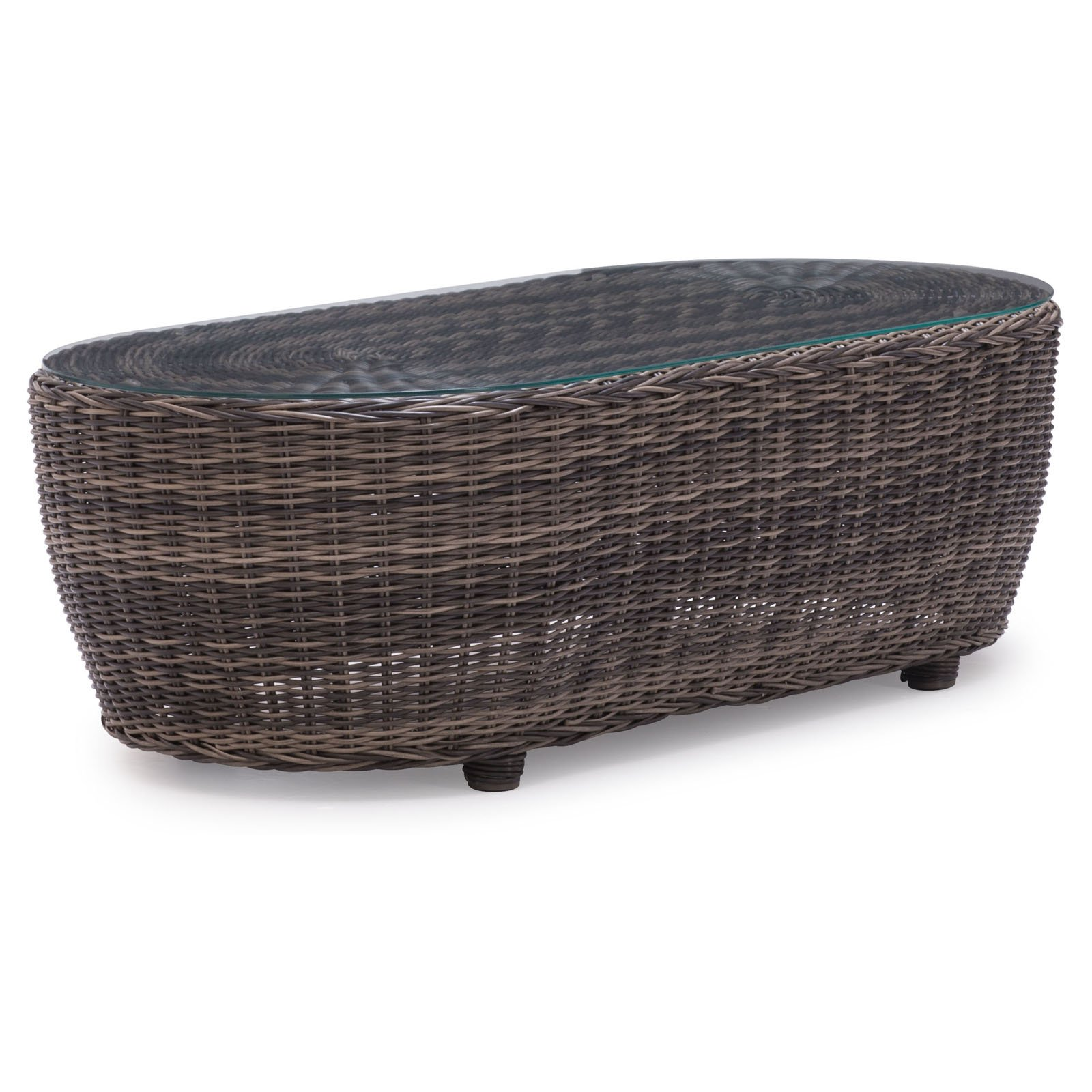 Zuo Vive Praia All-Weather Wicker Coffee Table