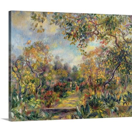 Great BIG Canvas | Pierre Auguste Renoir Premium Thick-Wrap Canvas entitled Landscape at Beaulieu, c.1893