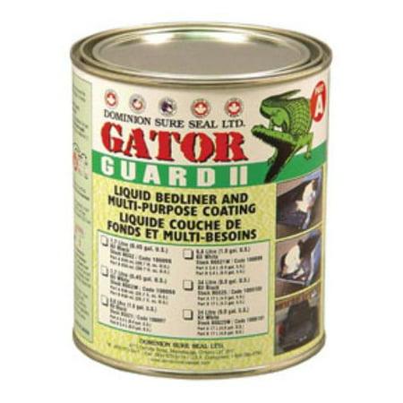 Dominion Sure Seal DOM-BGG2 Gator Guard Ii Epoxy Liquid Bedliner Kit - Black,