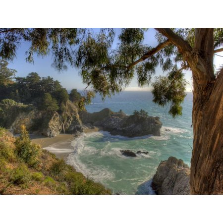 Mcway Falls At Julia Pfeiffer Burns State Park On The Big Sur Coast