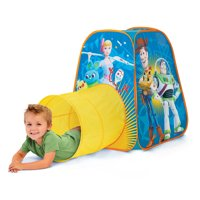 Disney Toy Story 4 Indoor Outdoor Play Tent with Crawl Tunnel