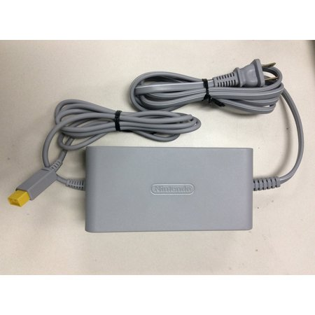 Wii Replacement Ac Adapter (Genuine OEM Wii U AC Adapter Power Supply Replacement Set With Wall Charger Cable Cordnot compatible with wii console By)
