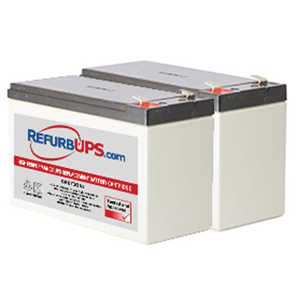 UPSBatteryCenter RBC33 Compatible Replacement Battery Pack for APC BackUPS XS 1500VA BX1500BP