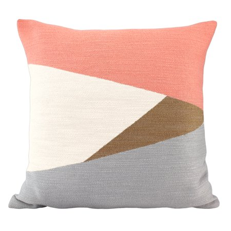 Better Homes & Gardens Triangle Geo Decorative Throw Pillow, 18