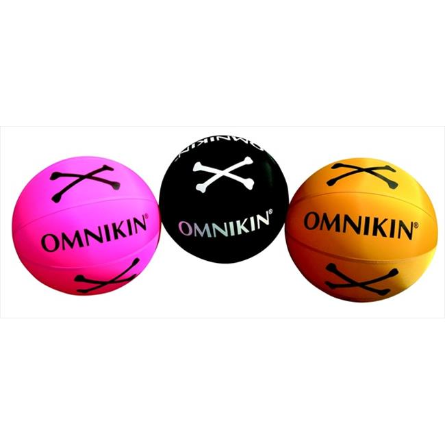 Omnikin Poison Ball Set - 18 Dia.  inch - Assorted, Round
