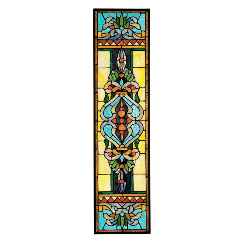 Design Toscano Inc Blackstone Hall Tiffany-Style Stained Glass Window