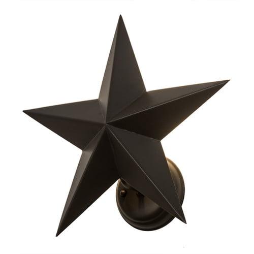 Meyda Tiffany 1 Light Texas Star Wall Sconce