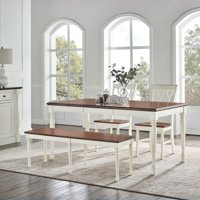 Crosley Furniture Shelby 4 Piece Dining Set
