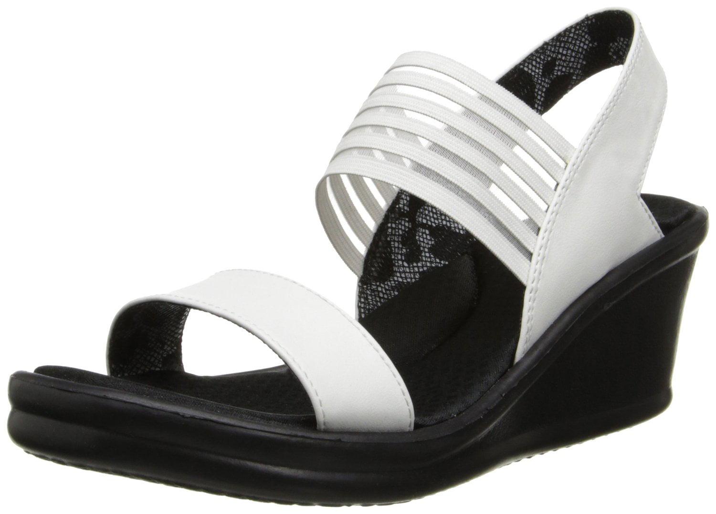 3ce4e9538570 Skechers - Skechers Cali Women s Rumblers-Sci-Fi Wedge Sandal