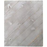 "Jillibean Soup Mix The Media Diagonal Wooden Plank-12""X15"" Weathered"