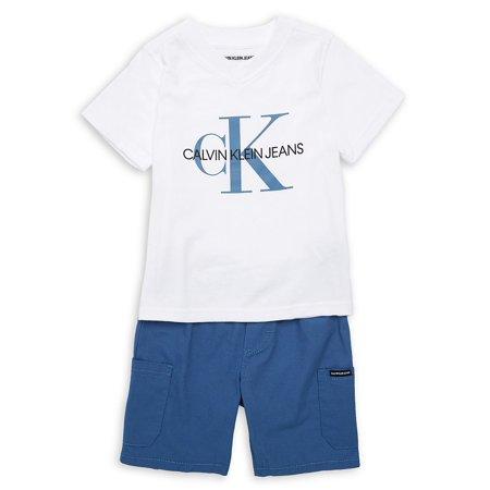 Little Boy's 2-Piece Shorts (Dkny Boys Shirt)