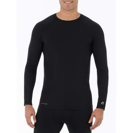 - Russell Mens L2 Active Base Layer Thermal Crew Shirt