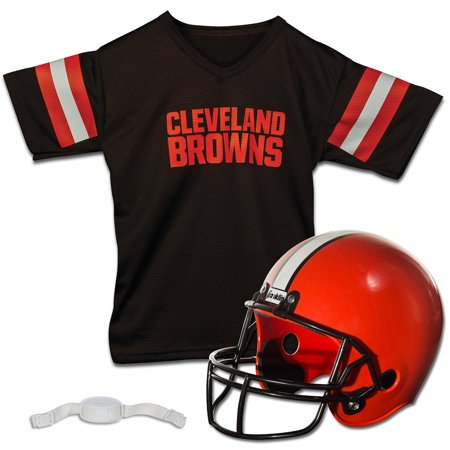 Cleveland Browns Franklin Sports Youth Helmet and Jersey Set - No (Cleveland Browns Helmet)