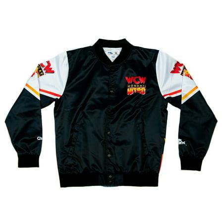 Official WWE Authentic WCW Nitro Retro Fanimation Chalk Line Jacket Multi Small