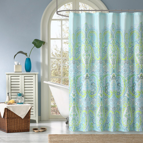 Home Essence Piper Printed Shower Curtain