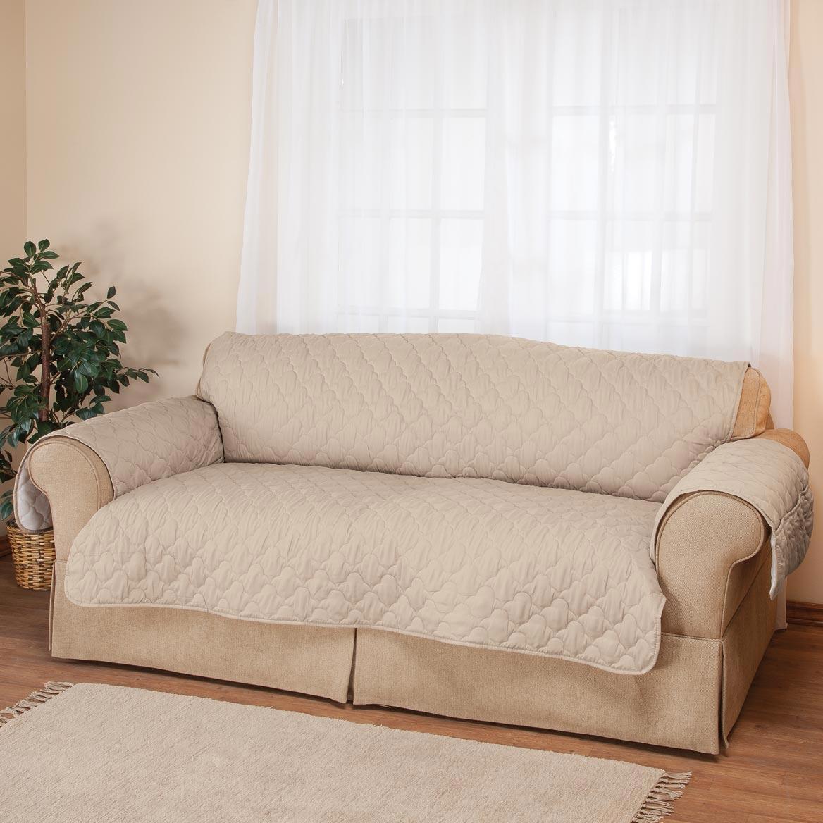 Deluxe Microfiber Sofa Cover by OakRidgeTM
