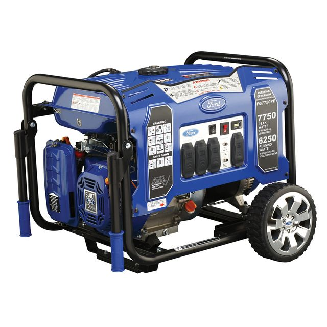 FORD 'M' FRAME GENERATOR PEAK 7750W RATED 6250 W