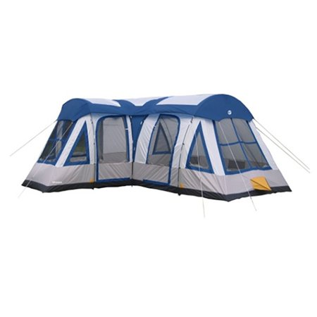 Cabelas Deluxe Tent (Tahoe Gear Gateway 12-Person Deluxe Cabin Family Camping Tent, Navy Blue )