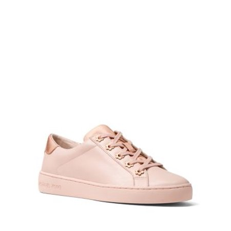 Womens MICHAEL Michael Kors Irving Lace Up Sneakers, Soft Pink