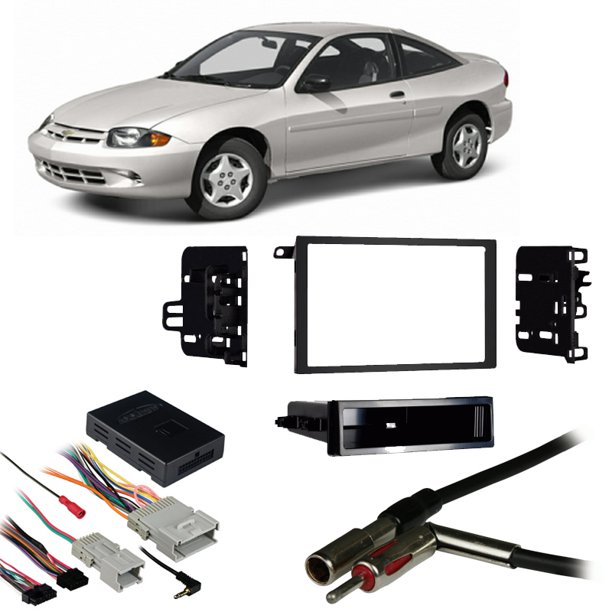 [WLLP_2054]   Fits Chevy Cavalier 2000-2005 Double DIN Harness Radio Install Dash Kit -  Walmart.com - Walmart.com | 2000 Cavalier Radio Wiring |  | Walmart