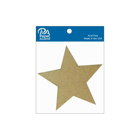 Chip Shape 8pc Star Natural