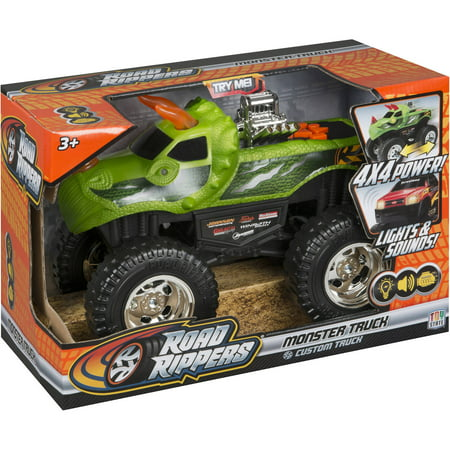 Road Rippers 10  Light And Sound 4X4 Monster Truck  Dinoroar